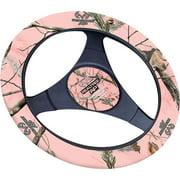 Realtree Pink Camouflage Neoprene Steering Wheel Cover