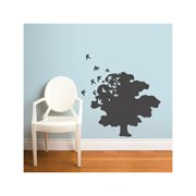 Tree of Life Wall Decal - Charcoal
