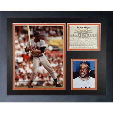 Willie Mays World Series Catch - Legends Never Die