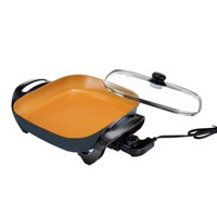 Deals on Gotham Steel XL 12-inch Copper Electric Skillet
