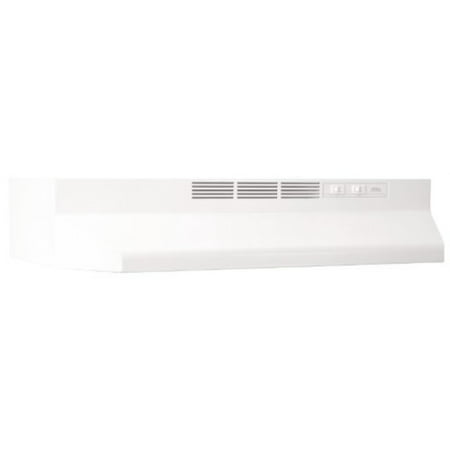 broan 413601 ada capable non-ducted under-cabinet range hood, 36-inch, white ()