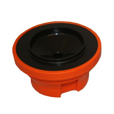 Service Ideas SVPLIDOR Orange Decaf Lid for SHS Server- 2 / PK (Service Ideas)