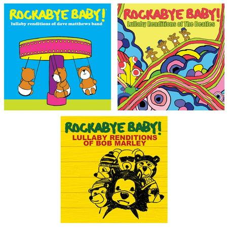 Rockabye Baby Lullaby Renditions 3 Cd Set Dave Matthews