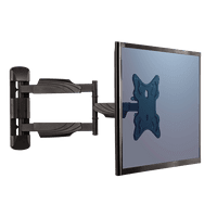 Fellowes Full Motion TV Wall Mount, Black