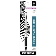Zebra Pen M-301 Stainless Steel Mechanical Pencil, 0.5mm, HB graphite, 1-pack