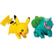 Pokemon 2pk Small Figures Pikachu and Bulbasaur