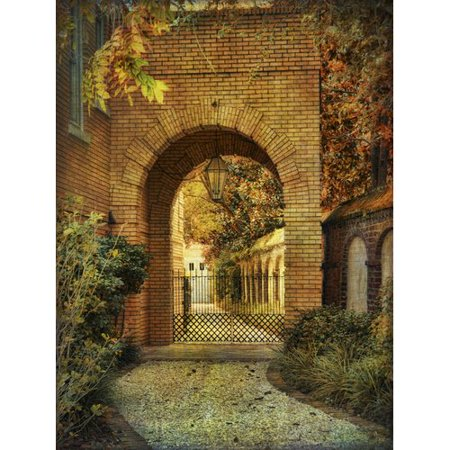Buy Art For Less 'Archway' by Flo Minton Photographic Print on Wrapped Canvas