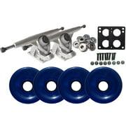 Randal 180 LONGBOARD TRUCKS Package 76mm T.BLUE Wheels Abec 7