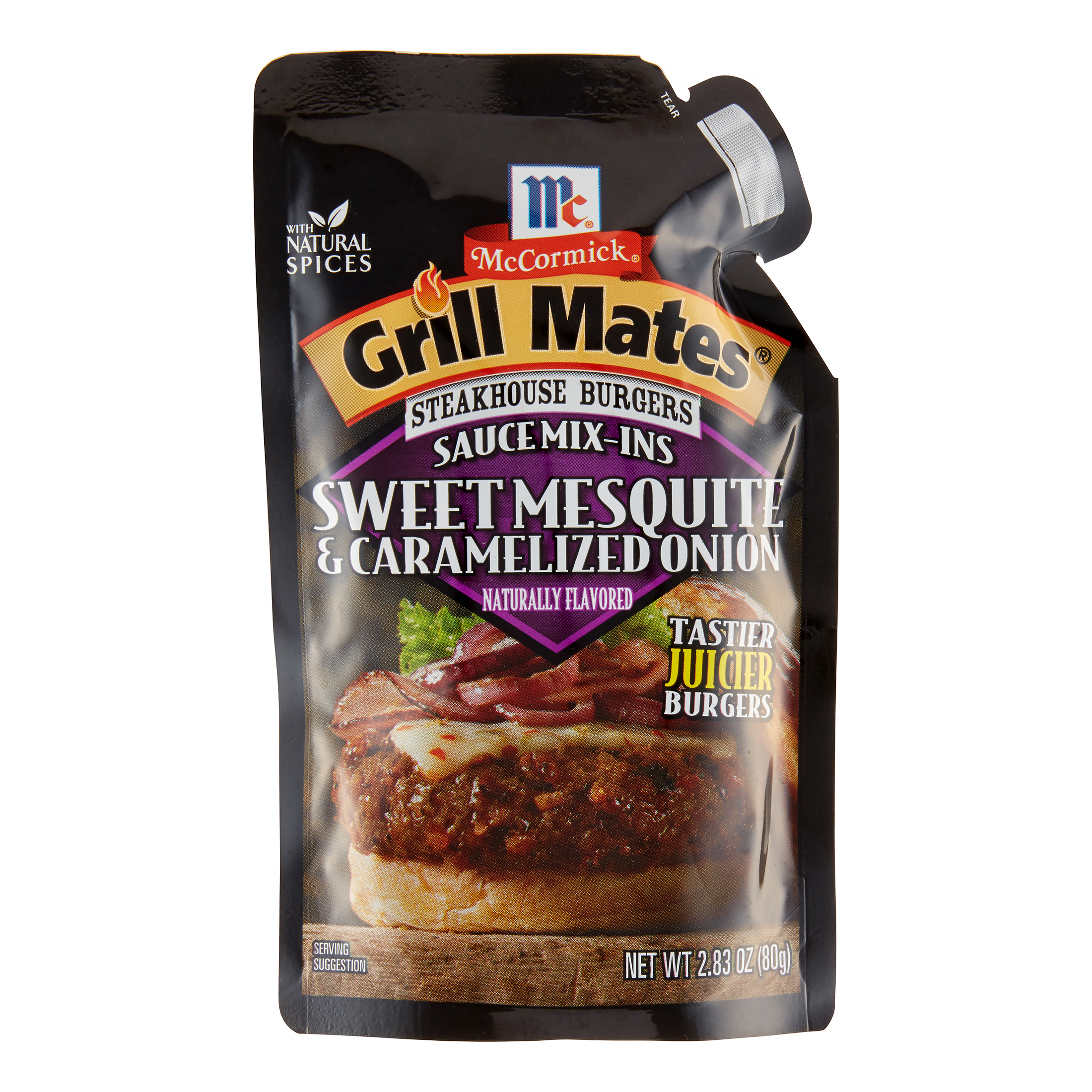 McCormick Grill Mates Sweet Mesquite & Caramelized Onion Steakhouse Burgers Sauce Mix-Ins,... by Mccormick
