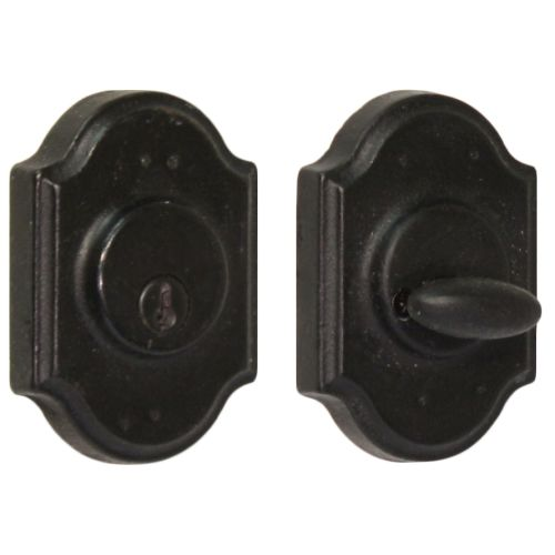 Weslock 7571 Premiere Series Grade 2 Single Cylinder Deadbolt from the Molten Bronze Collection