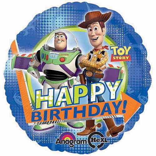 "Toy Story Metallic Balloon, 17"""