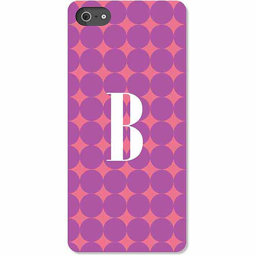 Personalized Purple Polka Dots iPhone 5 Case