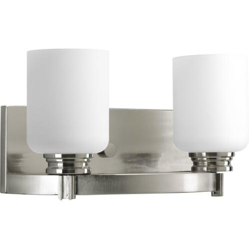 Progress Lighting P3057 Orbitz Two-Light Bathroom Fixture...