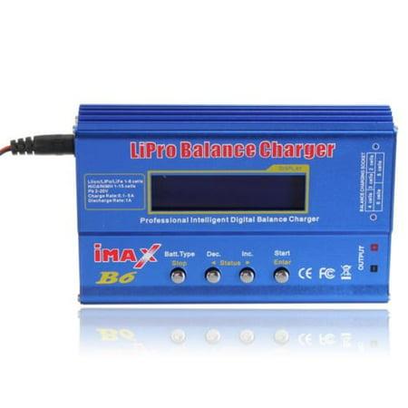 Imax B6 LCD Screen Digital Rc Lipo Nimh Battery Balance (Best Rc Lipo Battery Charger)