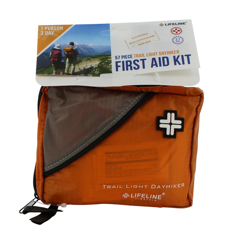 Lifeline 4060 Trail Light Dayhiker First Aid Kit - 57 Pieces