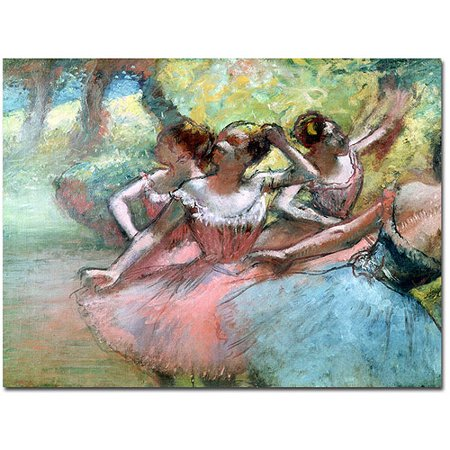 Degas Ballerina Paintings - Trademark Art