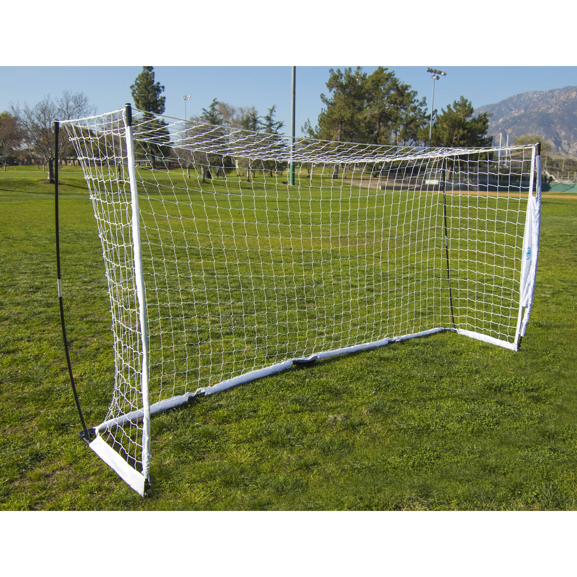 Athletic Works 12' x 6' Pop-Up Soccer Goal - Walmart.com