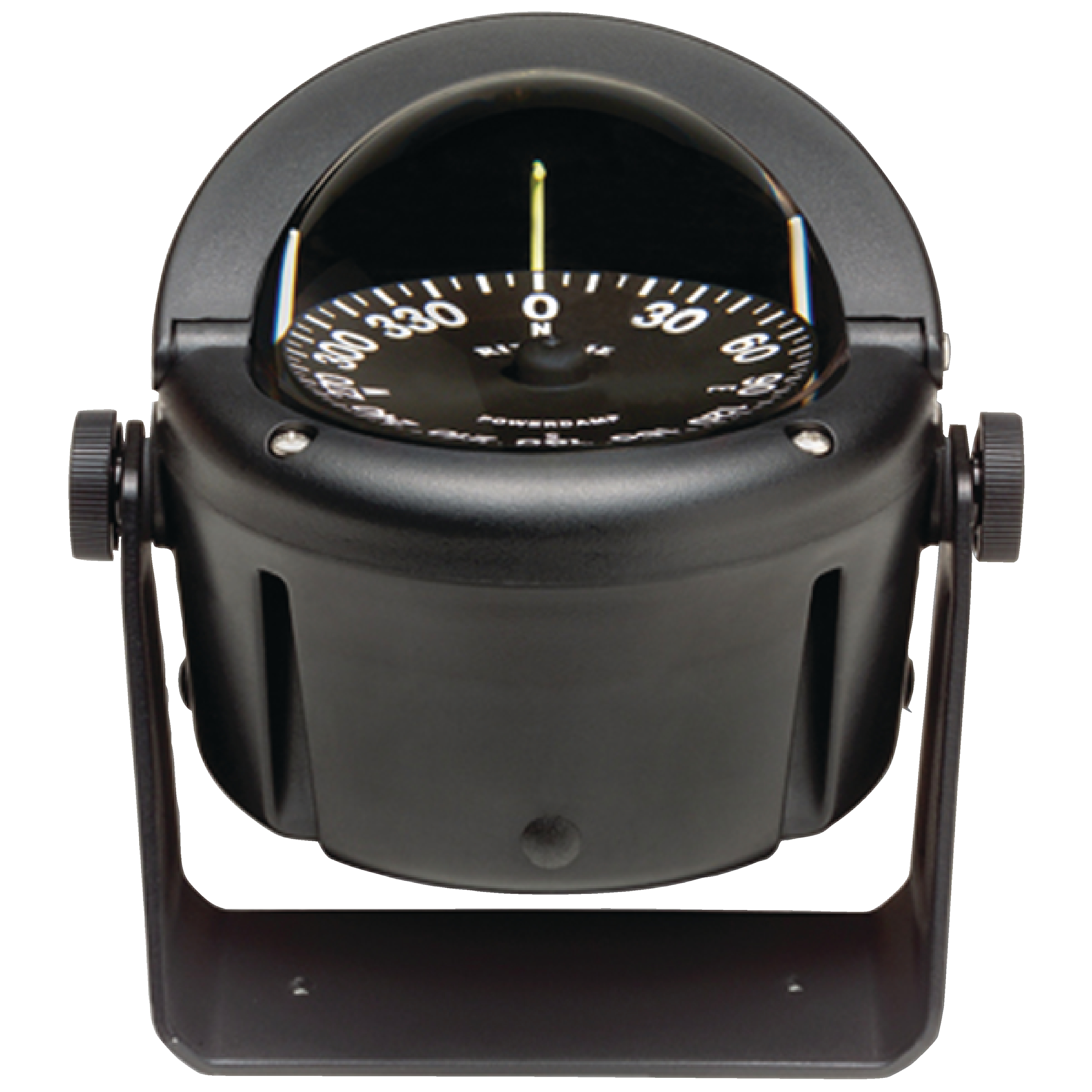 Click here to buy Ritchie HB740 Helmsman Black Flat Dial Boat Compass with Green Light & Bracket Mount by E.S. Ritchie & Sons Inc..