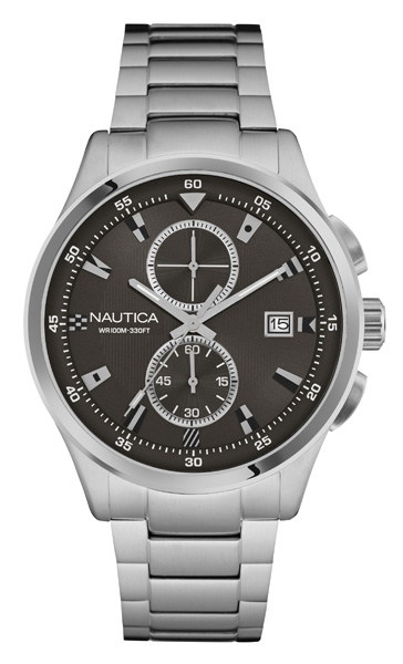 NAUTICA MEN'S WATCH NCT 19 FLAGS 44MM by Nautica