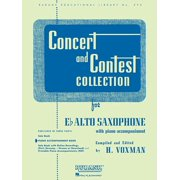 Concert and Contest Collection for Eb Alto Saxophone: Piano Accompaniment (Paperback)