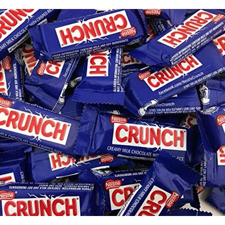 Candy Crush Halloween (Nestle Chocolate Crunch Bars, Bulk Pack 5)