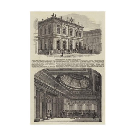The National Bank, Glasgow Print Wall Art ()