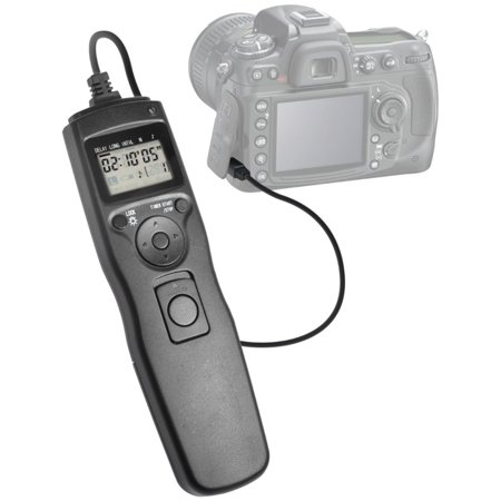 PRO Digital Camera Remote Controller for Canon EOS Rebel SL1, Elite Edge Intervalometer: Multi-Function Timer- Control Shutter Release- Cable Cord- LCD Display- Low Power Use - Unshakable Advantage!