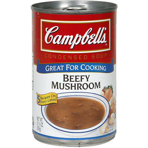 Campbell's Beefy Mushroom Condensed Soup, 10.75 oz (Pack of 12)