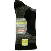 Ladies Merino Wool Textured Block Crew Socks