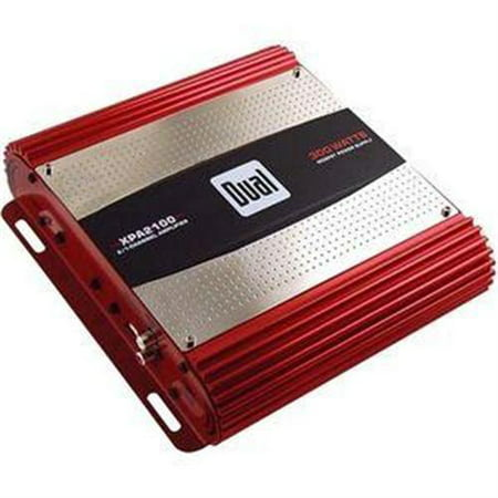 Dual Electronics XPA2100 High Performance Series MOSFET Class AB Two Channel Car Amplifier with 300 Watt Peak (Peak Dual Power Supply)