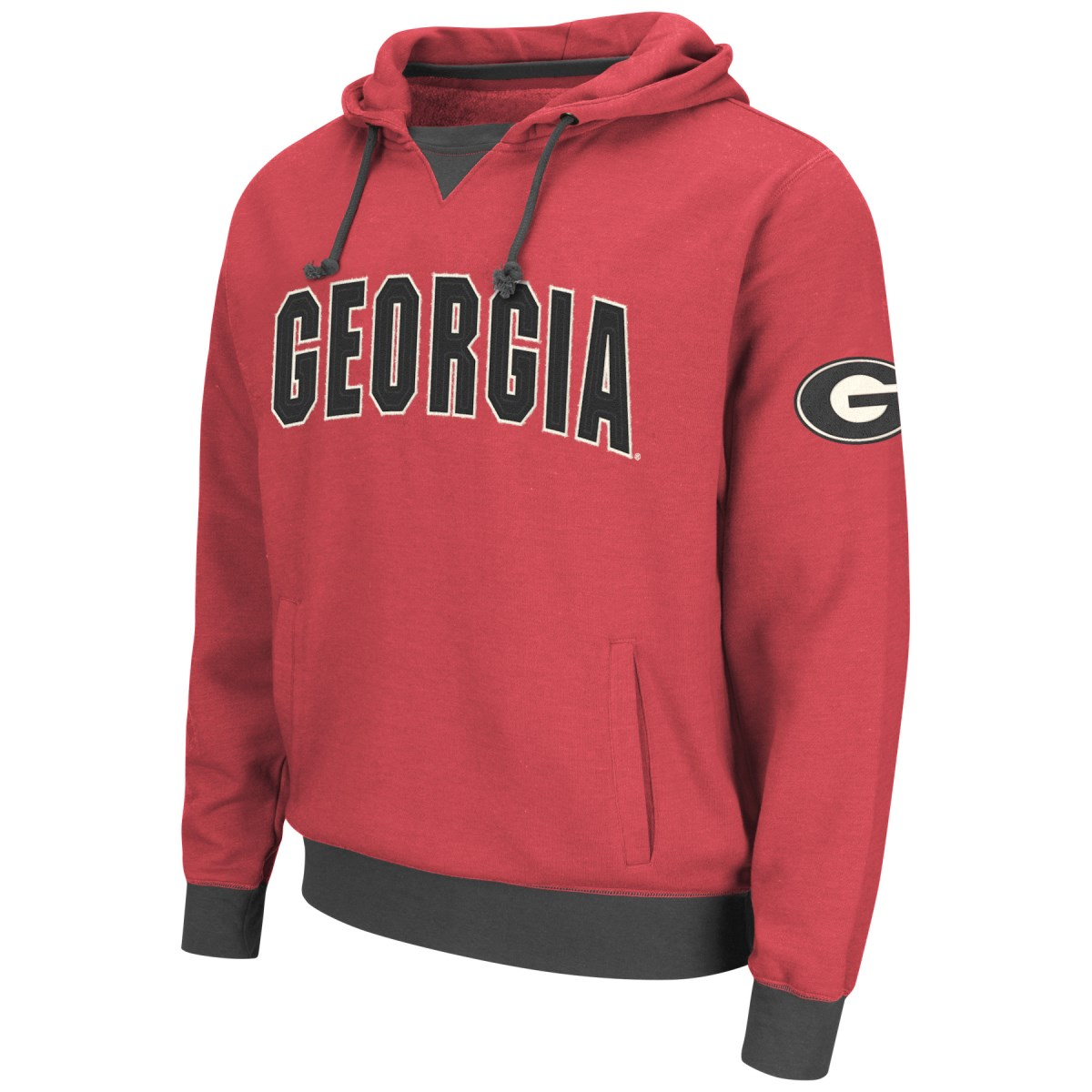 "Georgia Bulldogs NCAA ""Flurry"" Pullover Hooded Men's Sweatshirt"
