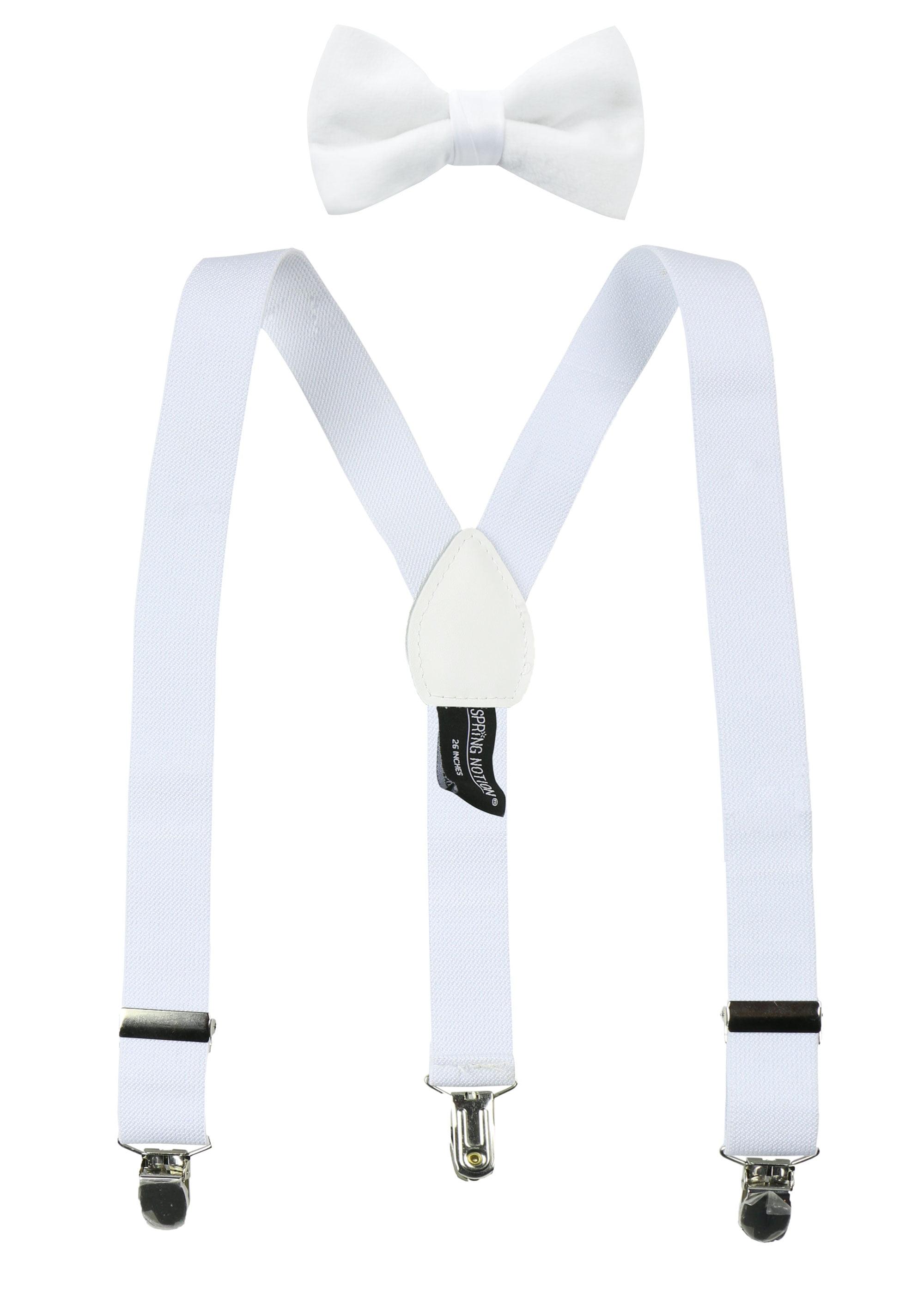 Spring Notion Boys Suspender and Velvet Bow Tie Set