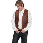 Men's Scully Lambskin Button Front Vest 503-60