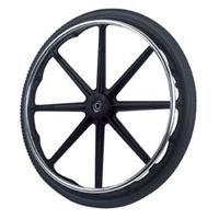 Drive Medical Flat Free Tirepneu Wheel With Handrim - 1 Ea