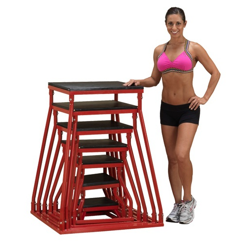 "Body-Solid Plyo Box Set 6-42"" Cross Training Plyo Box (BSTPBS5) *New*"