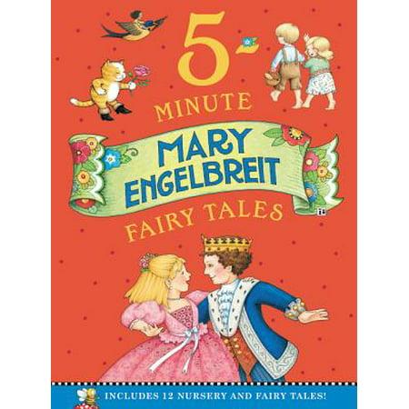 Mary Engelbreit's 5-Minute Fairy Tales : Includes 12 Nursery and Fairy Tales!
