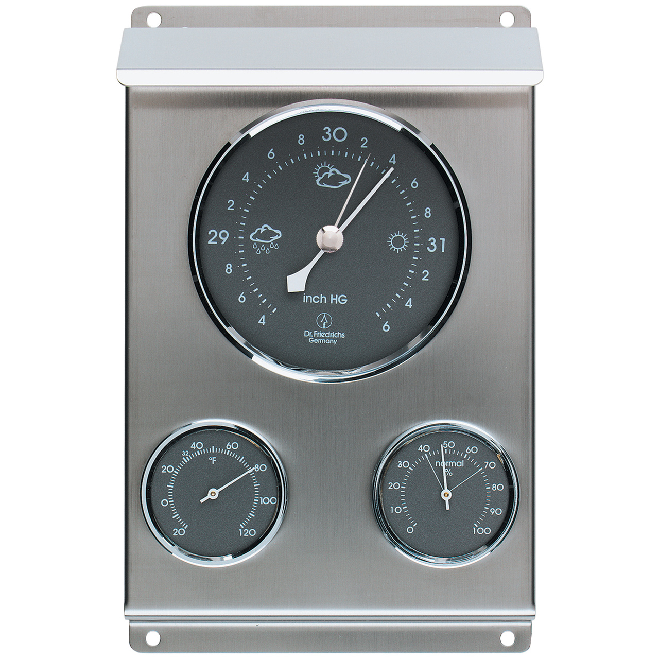 Weather Station Stainless Steel by