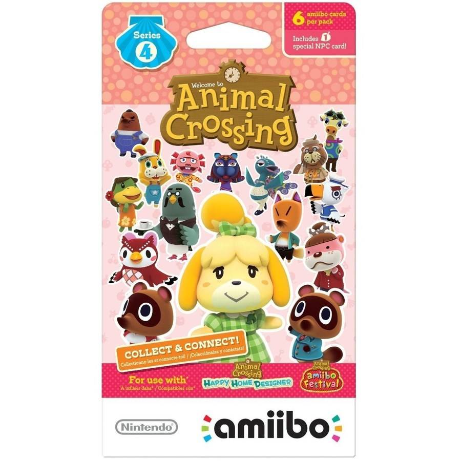 AMIIBO ANIMAL CROSSING S4 CARD (Nintendo WiiU or New Nintendo 3DS)
