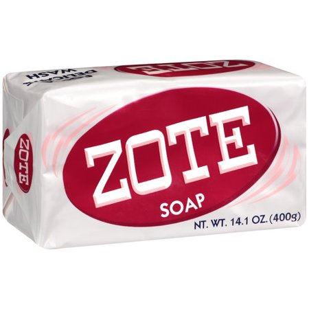 Zote Laundry Bar Soap Pink 14 1oz