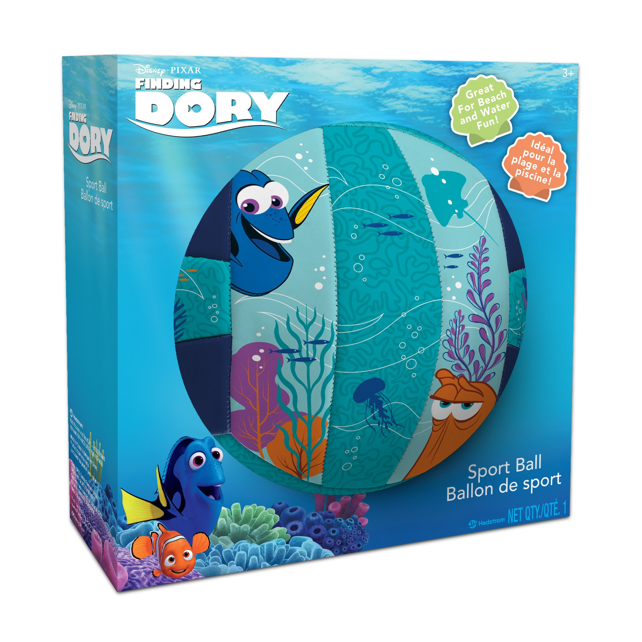 Hedstrom Finding Dory Jr Grip 'N Rip Volleyball - image 1 de 2