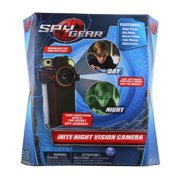 Spy Gear iNite Clip-On Secret Agent Night Vision Camera Detective Gadget With Infared Lights and Digital Zoom, Black (New Open Box)