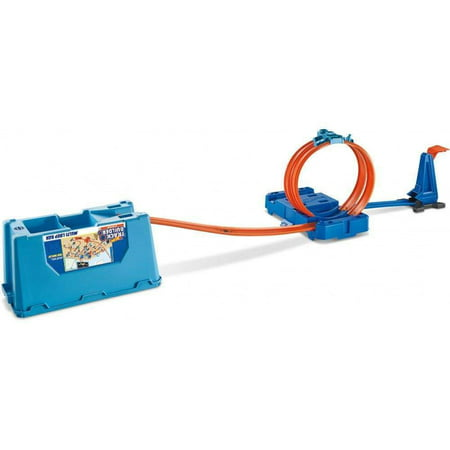 Hot Wheels Track Builder Multi Loop Stunt Box with