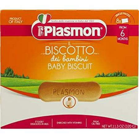- Plasmon Biscuits, Biscotti, 12.7 oz (360g)
