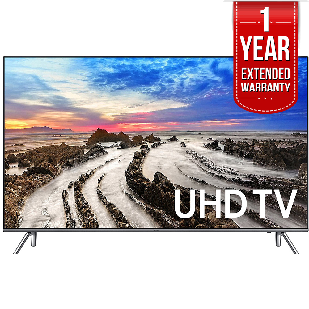 "Samsung 48.5"" 4K Ultra HD Smart LED TV 2017 Model UN49MU8000FXZA with 1"