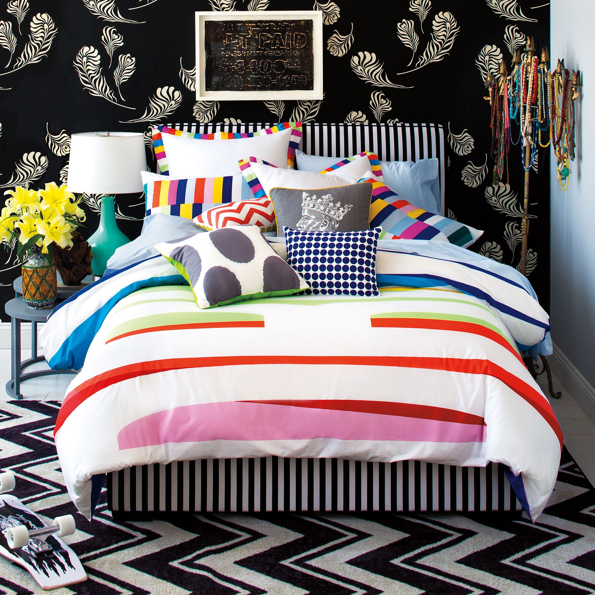 9 by Novogratz Dream in Color Duvet Set