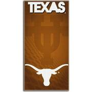 Ncaa Beach Towel Emblem Series- Texas