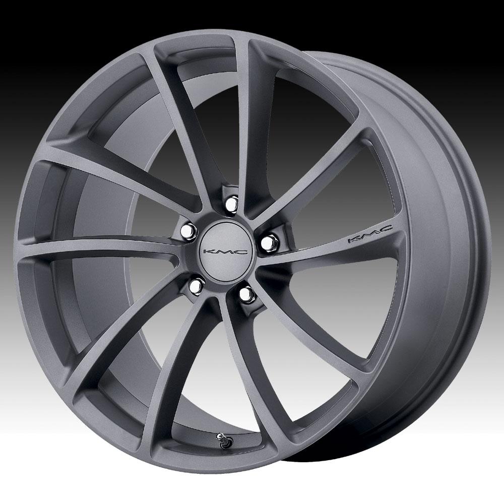 KMC KM691 Spin Gunmetal 20x9 5x4.5 38mm (KM69129012438)