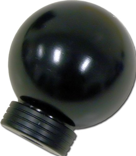 VMS Racing 10x1.25mm Thread 6 Speed JDM Round Ball Shift Knob in Black Billet Aluminum for 03-08 2003-2008 Nissan 350Z Fairlady Z