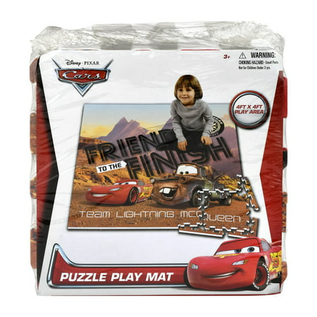 Disney Pixar Cars 4ft X Puzzle Play Mat 3 1 0 Ct