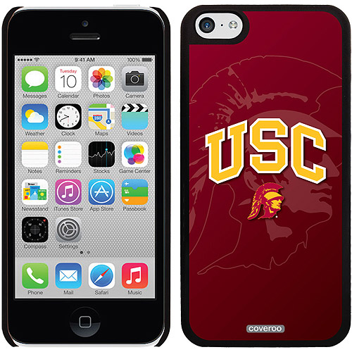 Coveroo USC Watermark 1 Design Apple iPhone 5c Thinshield Snap-On Case
